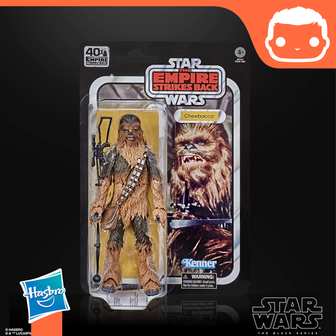 Star Wars Episode V Black Series Action Figures 15 cm 40th Anniversary 2020 - Chewbacca