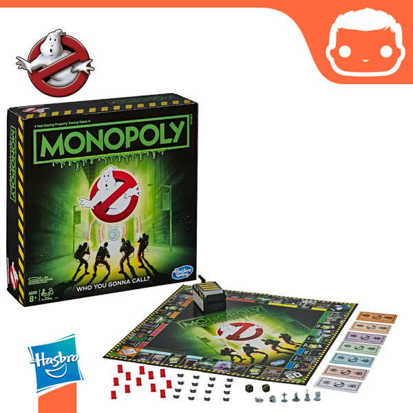 Ghostbusters Board Game Monopoly