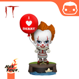 It Chapter Two Cosbaby Mini Figure Pennywise with Balloon 11 cm