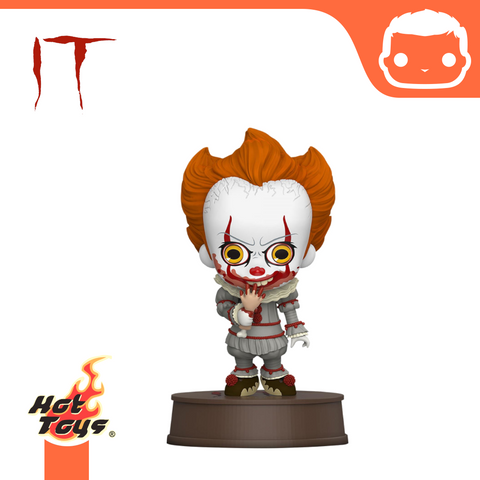 It Chapter Two Cosbaby Mini Figure Pennywise with Broken Arm 11 cm