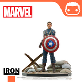 Marvel Comics BDS Art Scale Statue 1/10 Captain America First Avenger MCU 10 Years Event EX 21 cm