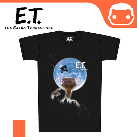 E.T. the Extra-Terrestrial T-Shirt Moon Poster