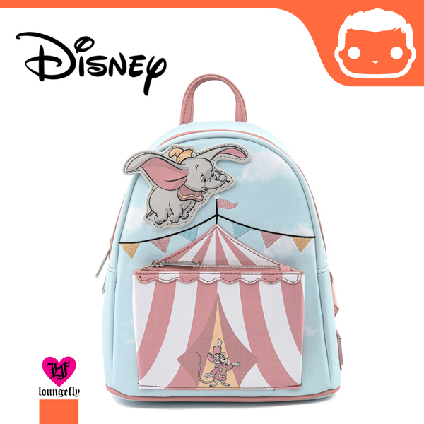 Disney by Loungefly Backpack Dumbo Flying Circus Tent