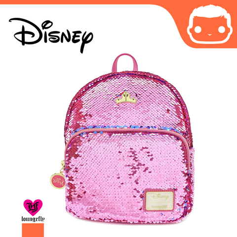 Disney by Loungefly Backpack Sleeping Beauty Reversible Sequin