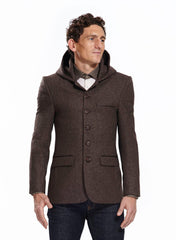 Sark hooded blazer