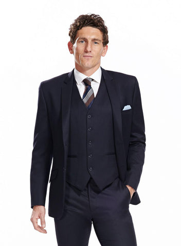 Made to measure black suit