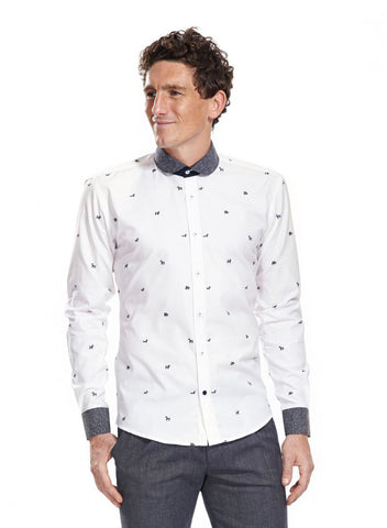 Beaumont White shirt