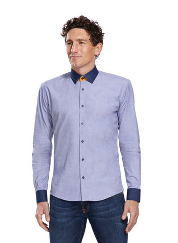 Neville Light blue athletic fit shirt