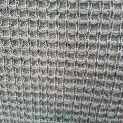 British wool waffle fabric for James Anderson Collection
