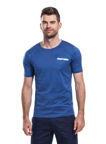 Falmouth Blue T-Shirt from the James Anderson Collection