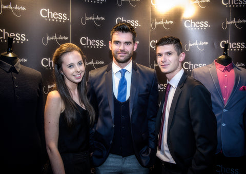 James Anderson and guests