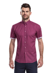 Lowry Cherry Shirt from the James Anderson Colleciton