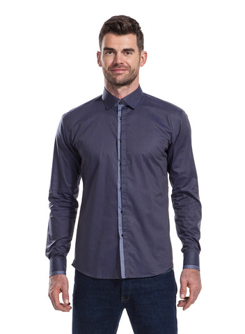 Atkinson indigo shirt from the James Anderson Collection
