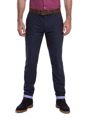 Newlands Blue chinos from the James Anderson Collection
