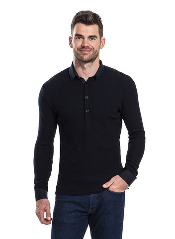 Lloyd navy top from the James Anderson collection