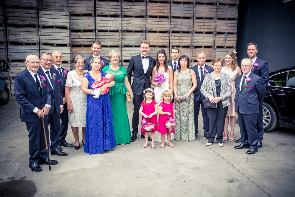 Simon Mignolet wedding party