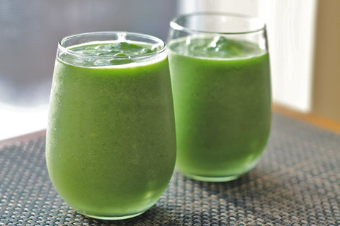 Spinach, Kale and Carrot Smoothie