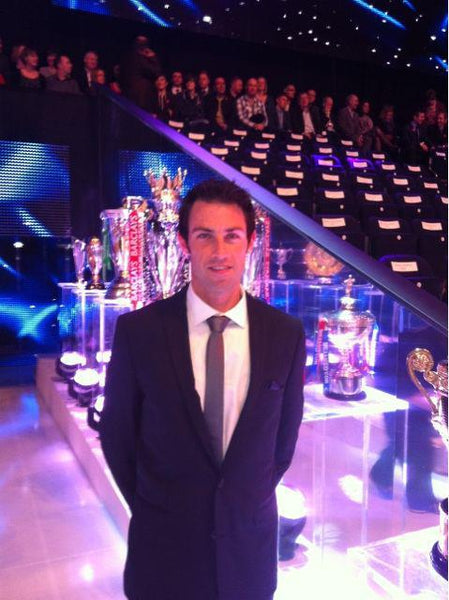 Mark Hunter at the BBC's Sports Personality of the Year