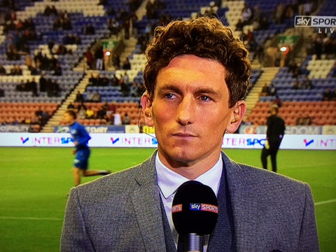 Keith Andrews wears Chess London bespoke suit