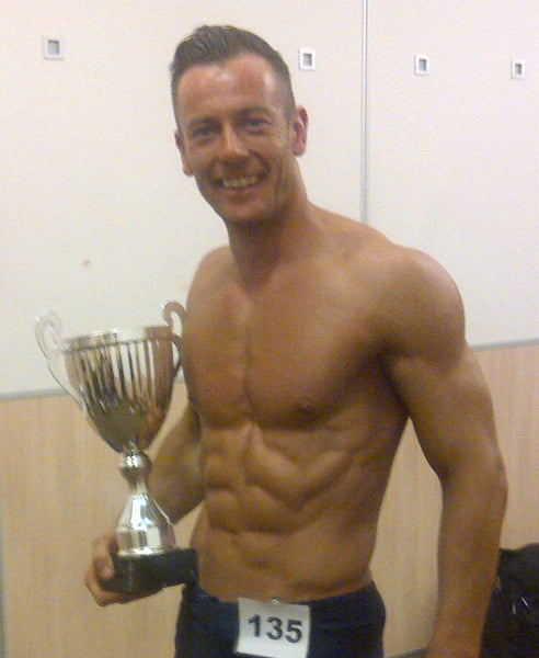 Andy Wiseman, fitness model