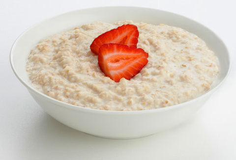 Porridge oats sweetened by fruit