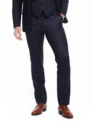 Wentworth navy trousers from the James Anderson Collection