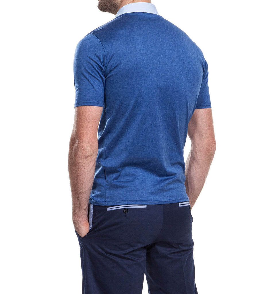 Reedley Blue Polo Shirt