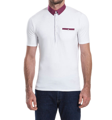 Sandy Lane White Polo Shirt
