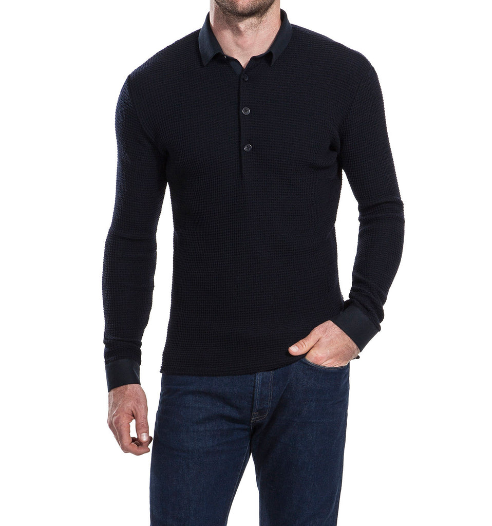 Lloyd Navy Top