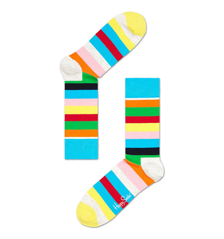 Multicolour Stripe Happy Socks