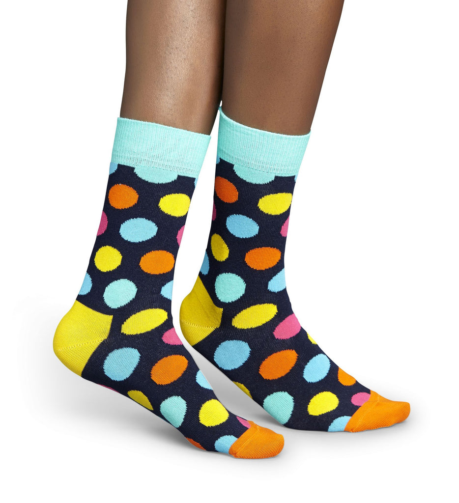 Multi-Coloured Big Dot Mens Happy Socks