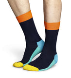 Five Colour Navy Mens Happy Socks