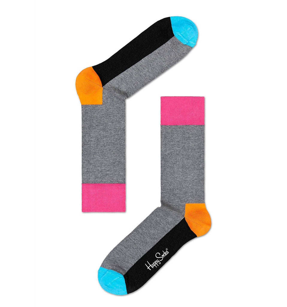 Five Colour Grey Happy Socks