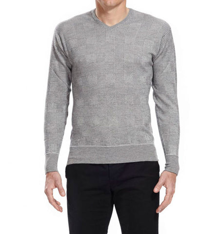 Kingsbury Grey Cashmere Jumper