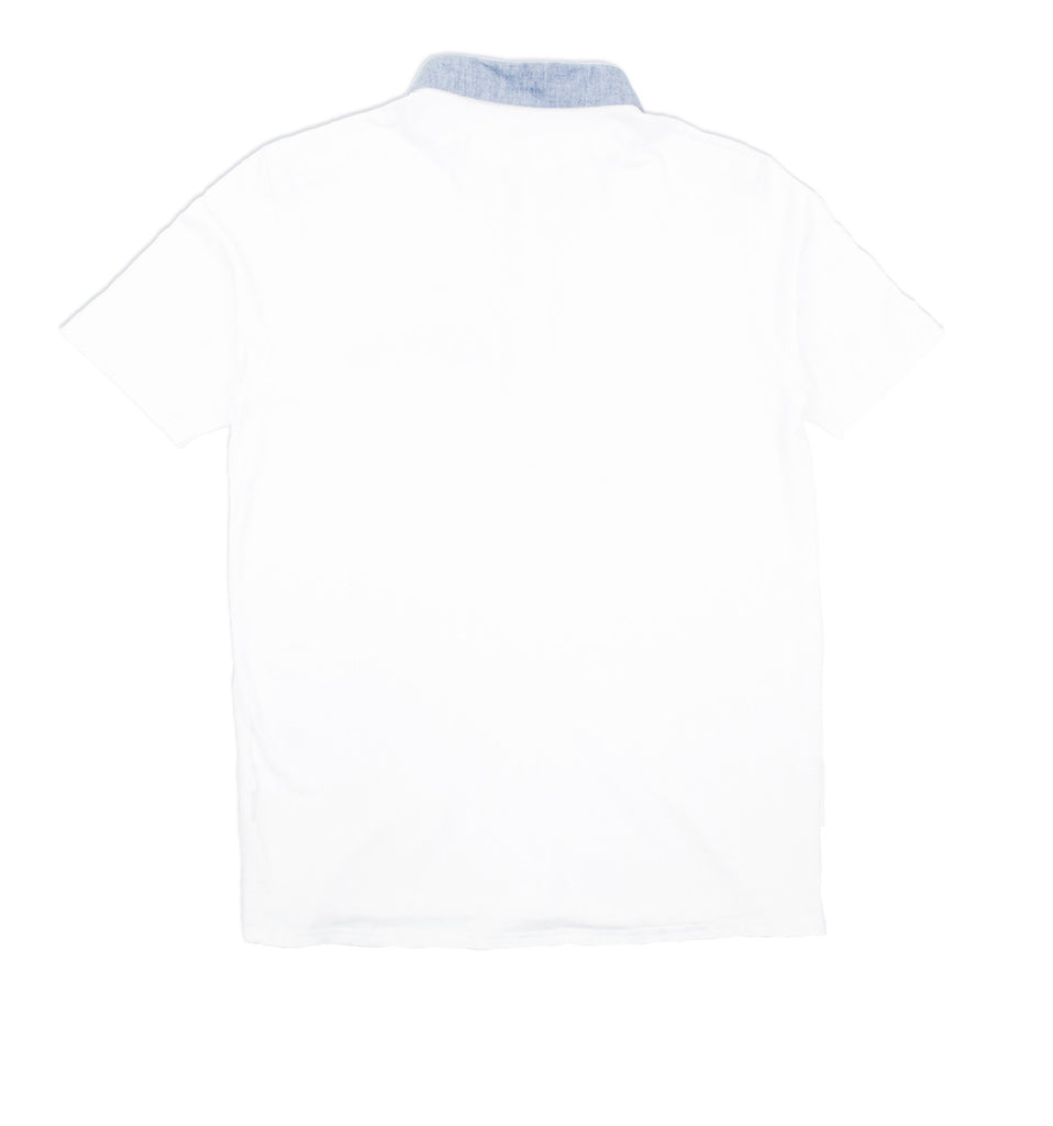 Mitchell White Polo Shirt