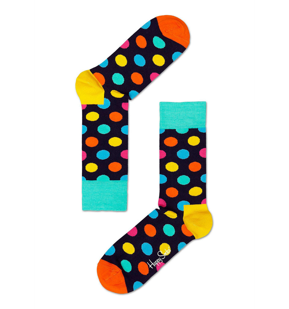 Multi-Coloured Big Dot Happy Socks
