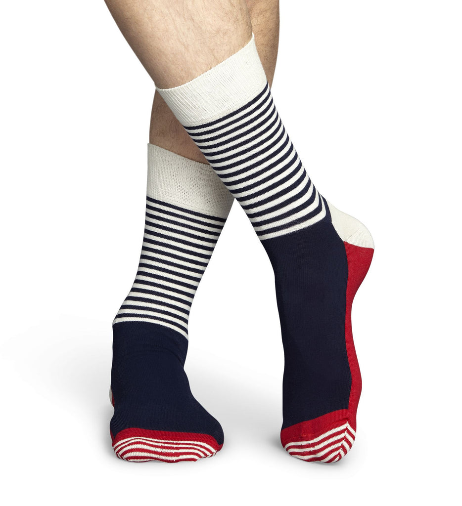 Multi-Coloured Stripe Mens Happy Socks