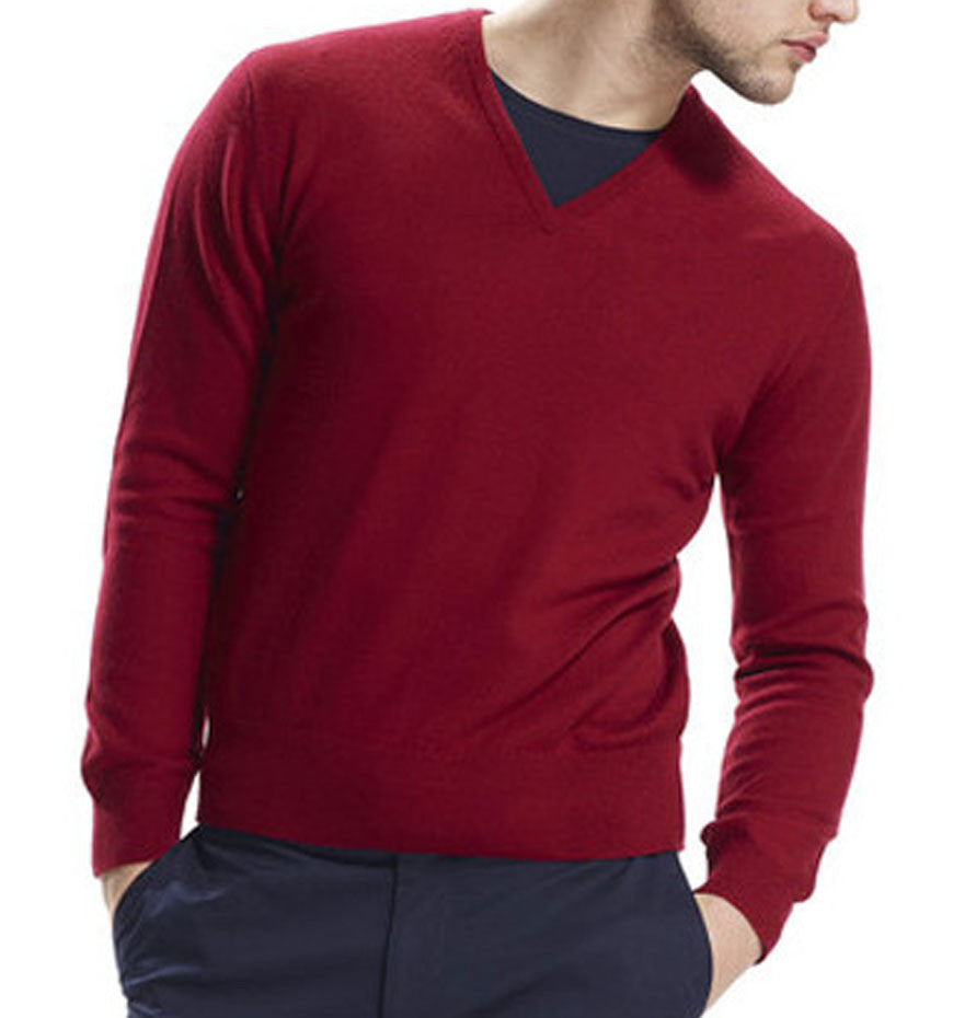 Chessington Wine Cashmere Jumper