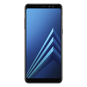 "Samsung Galaxy A8+ (2018) 32GB, 6.0"" Factory Unlocked SM-A730F Dual SIM, IP68, 4G LTE GSM International Version No Warranty (BLACK)"