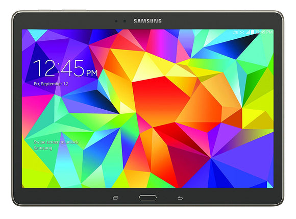 Samsung Galaxy Tab S 4G LTE Tablet, Charcoal Gray 10.5-Inch 16GB