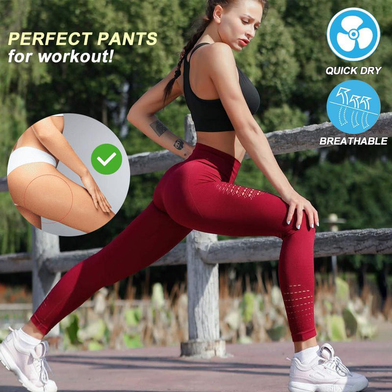 Women Seamless Breathable Quick-Dry Pants