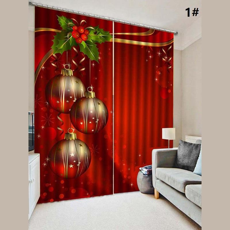 Christmas Window Curtains - 10 patterns