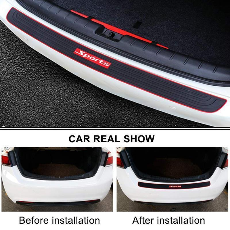 Car Rear Bumper Protector Stickers