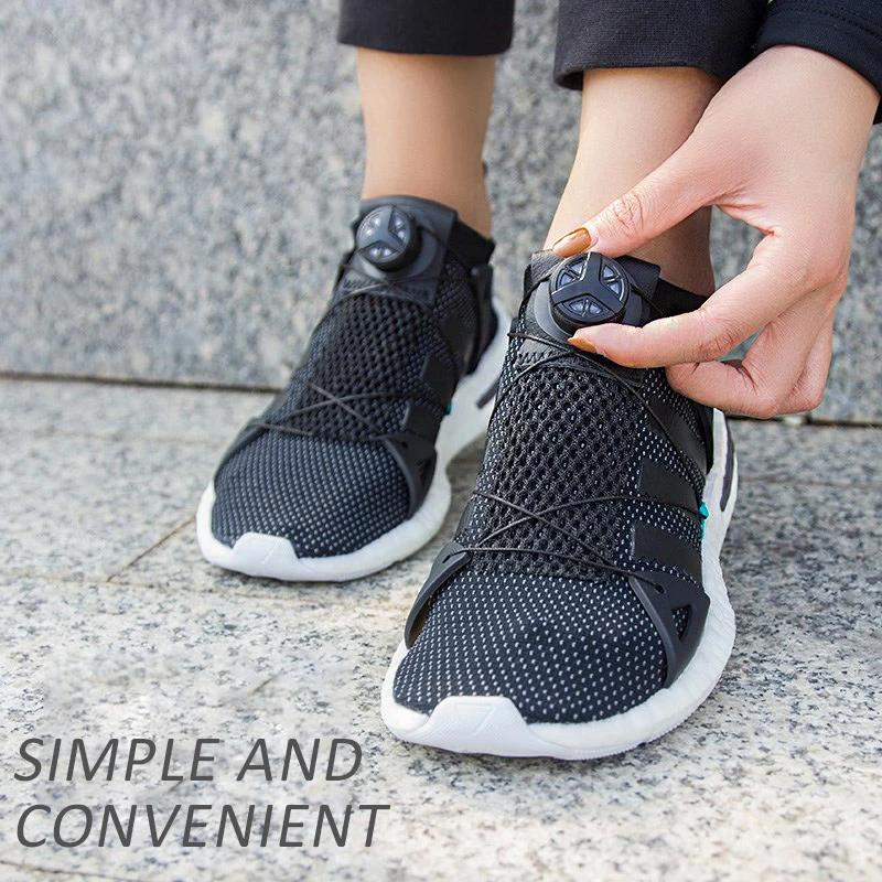 Rotating Automatic Buckle-Shoelace