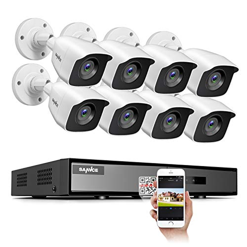 8-Channel 8 Camera 1080p Lite DVR Security System
