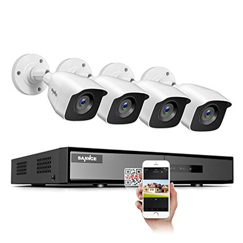 4 Channel 4 Camera 1080p Lite DVR Security System