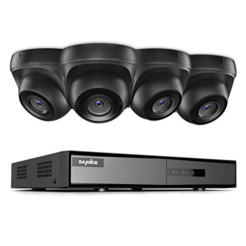 8 Channel 4 Camera 1080p Lite DVR Security System