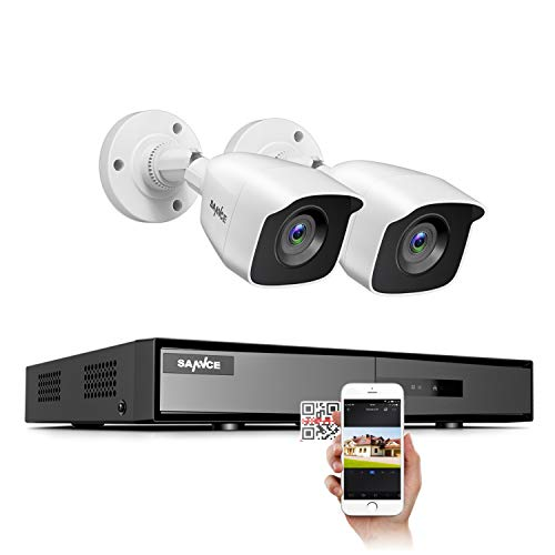 4CH 1080N DVR Security Camera Systems