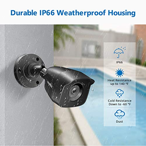 True All-in-One Wired Security Camera System with Built-in 10.1