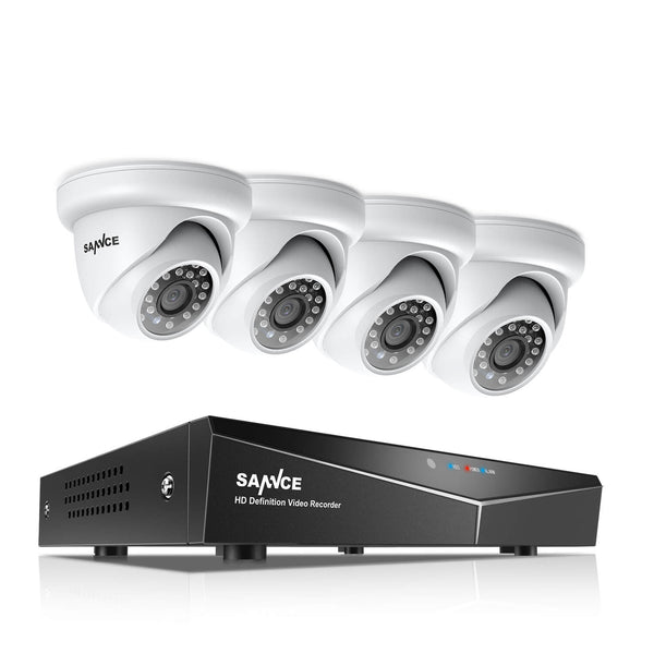 1080N DVR System With Outdoor Security Cameras